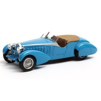 Matrix Bugatti Type 57 TT Bertelli Therese 1935 - Blue 1:43