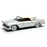 Matrix Cadillac Skylight Pininfarina 1959 Closed - Silver/White 1:43