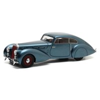 Delage D8-120 S Pourtout Coupe 1938 - Blue Metallic 1:43