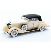 Matrix Hispano-Suiza H6C Convertible Sedan Hibbard & Darrin Closed - Yellow 1:43