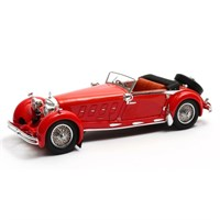 Matrix Mercedes 680S Armbruster Cabriolet Open 1929 - Red 1:43