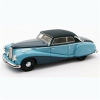 Mercedes 320A W142 Special Cabriolet Closed Tan Tjoan Keng 1948 - Blue 1:43
