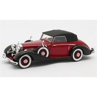 Matrix Mercedes 540K Roadster Lancefield 1938 Closed - Red 1:43