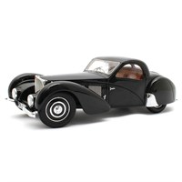 Matrix Bugatti Type 57 SC Atalante 1937 - Black 1:18