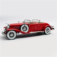 Matrix Duesenberg SJ2608 Torpedo Lagrande - Red 1:18