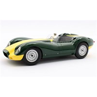 Matrix Lister-Jaguar Knobbly 1958 - Green/Yellow 1:18