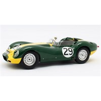 Matrix Lister-Jaguar Knobbly - 1st 1958 Daily Express Trophy - #29 S. Moss 1:18