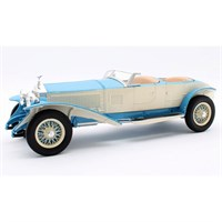 Matrix Rolls-Royce Phantom Experimental Vehicle 10EX Barker 1926 - Blue/White 1:18