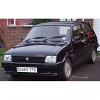 Neo MG Metro Turbo 1986 - Black 1:43