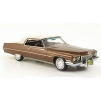Neo Cadillac Coupe Deville 1972 - Metallic Brown 1:43