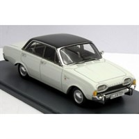 Neo Ford Taunus 17M P3 1960 - White/Black 1:43