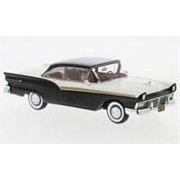 Ford Fairlane 500 Hardtop 1957 - Black/White 1:43