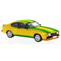 Neo Ford Capri Mk.II X-Pack - Yellow/Green 1:43