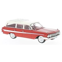 Neo Chevrolet Nomad Station Wagon 1961 - Red/White 1:43