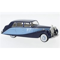 Neo Rolls-Royce Silver Wraith Hooper Empress 1956 - Dark Blue/Light Blue 1:43