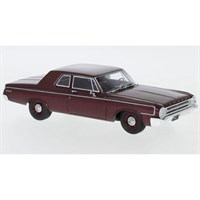 Neo Dodge 330 Sedan 1964 - Metallic Dark Red 1:43