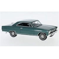 Neo Chevrolet Nova SS Hardtop 1966 - Metallic Dark Green 1:43