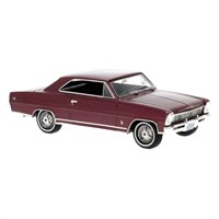 Neo Chevrolet Nova SS Hardtop 1966 - Metalic Dark Red 1:43