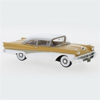 Neo Ford Fairlane 500 Hardtop 1958 - Light Orange/White 1:43