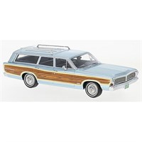 Neo Ford LTD Country Squire 1968 - Light Blue 1:43