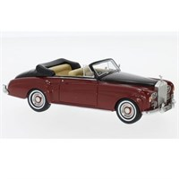 Neo Rolls-Royce Silver Cloud III Convertible 1964 - Red/Black 1:43