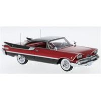 Neo Dodge Customs Royal Lancer Coupe 1959 - Red/Black 1:43