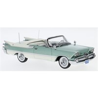 Neo Dodge Customs Royal Lancer Convertible 1959 - Turquoise/White 1:43
