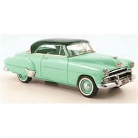 Neo Chevrolet Styleline Hardtop Coupe 1952 - Light Green/Dark Green 1:43
