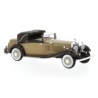 Neo Rolls-Royce Phantom II Continental DHC Gurney Nutting 1934 - 2-Tone Brown 1:43