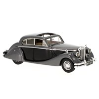 Neo Jaguar Mk V 1950 - Metallic Grey/Black 1:43