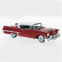Neo Cadillac Series 62 Hardtop Coupe 1957 - Red/White 1:43