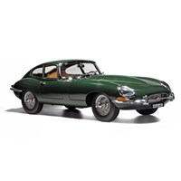 Norev Jaguar E-Type Coupe 1962 - Green 1:12