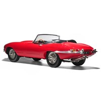 Norev Jaguar E-Type Cabriolet 1962 - Red 1:12