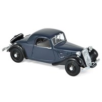 Norev Citroen Traction 7C Faux Cabriolet 1937 - Dark Blue 1:43