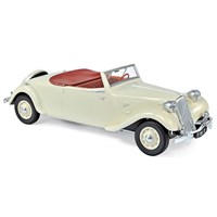 Norev Citroen Traction Avant 11B Cabriolet 1939 - Cream 1:18