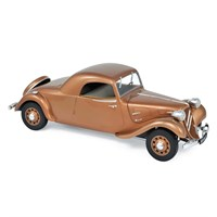 Norev Citroen Traction Avant 11B Coupe 1938 - Brown 1:18