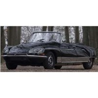 Norev Citroen DS21 Palm Beach 1968 - Black 1:18