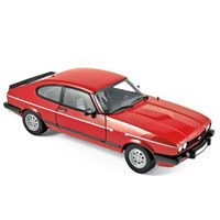 Norev Ford Capri 2.8i Injection 1983 - Red 1:18