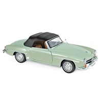 Norev Mercedes 190 SL 1957 - Light Green Metallic 1:18