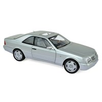 Norev Mercedes S600 Coupe 1998 - Silver 1:18