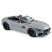 Mercedes AMG GT C Roadster 2017 - Silver 1:18