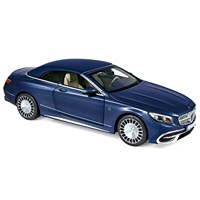 Norev Maybach S650 Cabriolet 2018 - Dark Blue Metallic 1:18