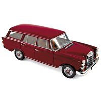 Norev Mercedes 200 Universal 1966 - Dark Red 1:18