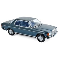Mercedes 280 CE 1980 - Blue Metallic 1:18