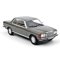 Norev Mercedes 280 CE 1980 - Anthracite Grey Metallic 1:18