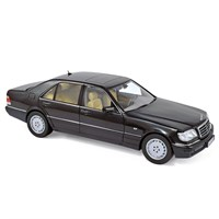 Norev Mercedes S320 1997 - Black Metallic 1:18