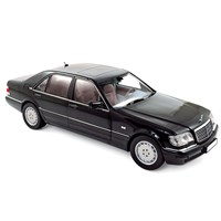 Norev Mercedes S600 1997 - Black 1:18