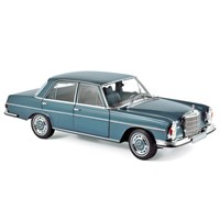Norev Mercedes 280 SE 1968 - Light Blue Metallic 1:18