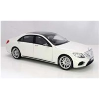 Norev Mercedes S-Class AMG-Line 2018 - White Metallic 1:18