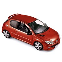 Peugeot 206 RC 2003 - Aden Red 1:18